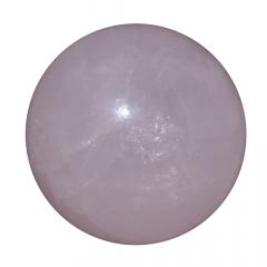 Pedra Quartzo Rosa em Esfera 158g