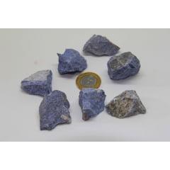 Pedra Dumortierita Bruta 3 a 3,5 cm