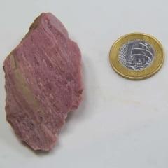 Pedra Jaspe Rosa Bruta 4x5cm