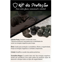 Combo com 5 Kits Proteção Saúde Prosperidade Amor e 7 Chakras