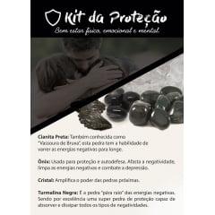 Kit 4 Pedras para Proteção