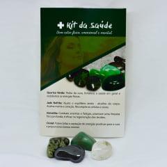 Kit 4 Pedras para Saúde