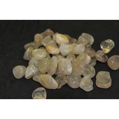 Pedra Quartzo Rutilado Rolada 0,5 a 1,5cm-3327
