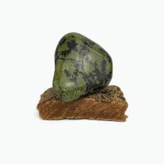 Pedra Jade Nefrita Rolada 100A200 g - 10279