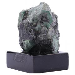 Pedra Esmeralda Bruta com Base 390g