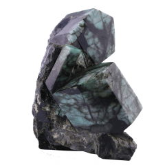 Pedra Esmeralda Lapidada 1,370 kg