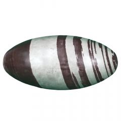 Pedra Lingam de Shiva Marrom Rolada 10544