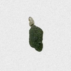 Pingente Moldavita (Meteorito) 14,3 quilates