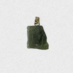 Pingente Moldavita (Meteorito) 15,5 quilates
