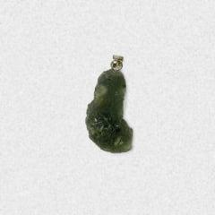 Pingente Moldavita (Meteorito) 18,9 quilates