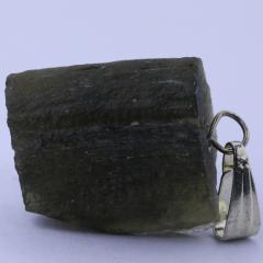 Pingente Moldavita (Meteorito) 19,6 quilates