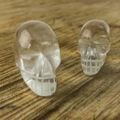 Crânio de Quartzo Cristal G