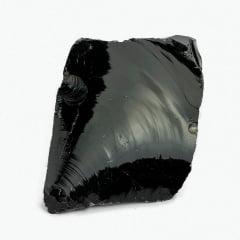 Pedra Obsidiana Negra Bruta 300 A 350 G 11098