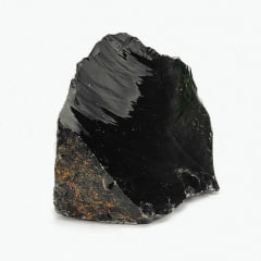 Pedra Obsidiana Negra Bruta 900 A 1000 G 11106
