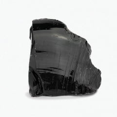 Pedra Obsidiana Negra Bruta Base 350 A 400 G 11099