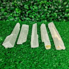 Bastão de Selenita Branca 7x10cm
