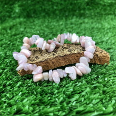 Pulseira de Pedra Kunzita