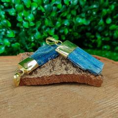 Pingente de Pedra Cianita Azul 90487