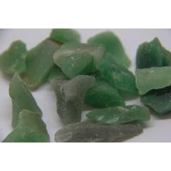 Pedra Quartzo Verde Bruta 1,5 a 3cm