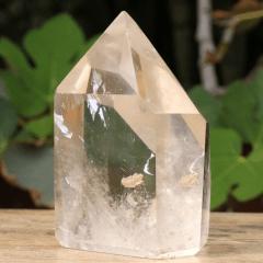 Ponta de Quartzo Cristal 432g