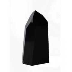 Ponta Obsidiana Negra 267 g